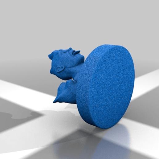 Download free 3D printer templates Rocky guy, Shinokez