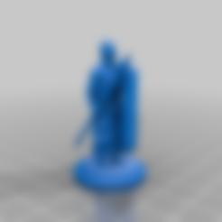 Shield_lance-warrior_01.stl Télécharger fichier STL gratuit Guerrier sumérien 3 • Design à imprimer en 3D, Shinokez
