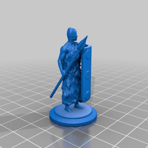 Télécharger fichier impression 3D gratuit Guerrier sumérien 3, Shinokez
