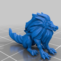 Download free 3D model Alphyn monster, Shinokez