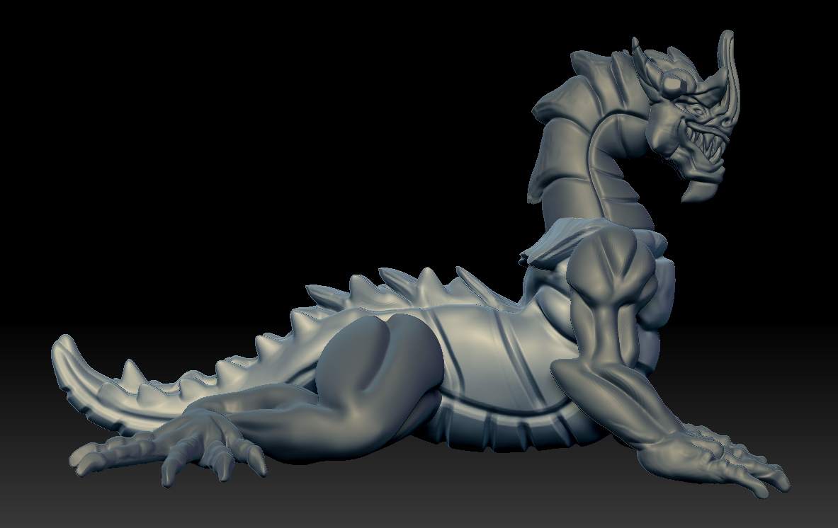 nightmare.jpg Download free STL file Nightmare Dragon • 3D printing model, Shinokez