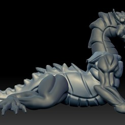 Download free 3D printing models Nightmare Dragon, Shinokez