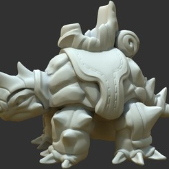 Download free 3D printing models War turtle, Shinokez