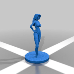 93f34640b032ba201946dfaf399b268a.png Download free STL file Female posed • 3D printing object, Shinokez