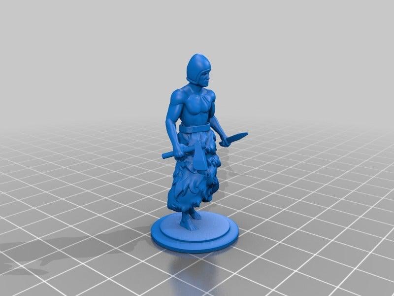 838d1a9e1fa5366ebda470843aeca065.png Download free STL file Sumerian warrior • 3D printing model, Shinokez