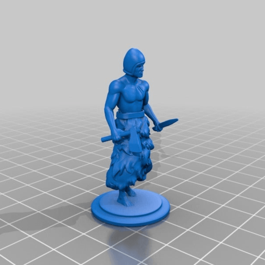 Download free 3D printer files Sumerian warrior, Shinokez