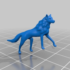 Descargar modelo 3D gratis Lobo de ensueño, Shinokez