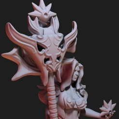 fa resized.jpg Download STL file Fire goddess • 3D printing design, Shinokez