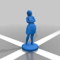 b42e7aef7658cfabae84ca97d2e069cc.png Download free STL file Female model standing 2 • 3D printing object, Shinokez
