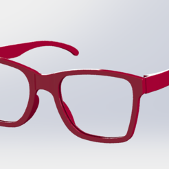 Glasses.PNG Download STL file Sun Glasses • Model to 3D print, ricardoagv11