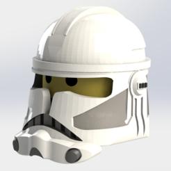 clonetooper2.PNG Télécharger fichier STL Casque Lego de Clone Trooper phase 2 • Modèle pour imprimante 3D, ricardoagv11