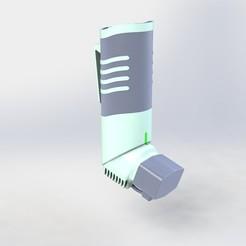Download STL file Asthma inhaler, ricardoagv11