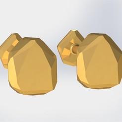 Download 3D printing templates Cuff link, ricardoagv11
