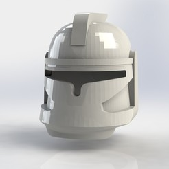 Download STL file Clone Helmet Lego, ricardoagv11