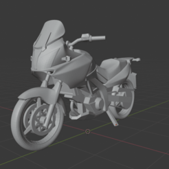Download STL file Suzuki V-STROM 650 DL 2008 - simplified, kiodo40k