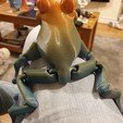 Download STL file Cute Flexi Print-in-Place Frog • Template to 3D print, paulandkirstie2
