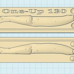 one up 130 a.jpg Télécharger fichier STL moule leurre one-up 130mm • Modèle à imprimer en 3D, fullpowerfishing