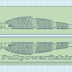 Shad rayée 1.jpg Télécharger fichier STL shad rayéee • Modèle imprimable en 3D, fullpowerfishing