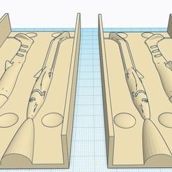 moule type raglou 1.jpg Télécharger fichier STL Contre Moule leurre inversé type  115mm • Modèle imprimable en 3D, fullpowerfishing
