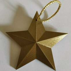 Star-min-min.jpg Download free STL file Christmas Star • Model to 3D print, georges619
