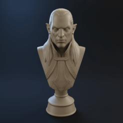 Télécharger fichier imprimante 3D elf dark, ludw2212