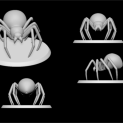Descargar archivo 3D gratis spider , ludw2212