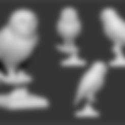 Télécharger fichier imprimante 3D chouette, ludw2212
