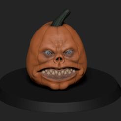 Télécharger objet 3D démon pumpkim, ludw2212