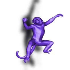 Capture d'écran 2020-06-19 à 14.13.41.png Download STL file Seletti Monkey Lamp • 3D print object, Rad30n