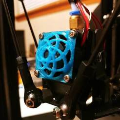 Download 3D print files 30mm dome fan cover, Shaeroden