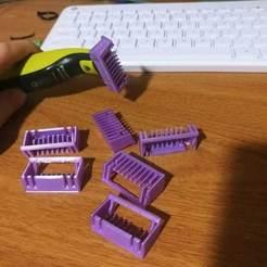 Descargar modelos 3D para imprimir Philips Norelco OneBlade peines de afeitar para afeitar, Shaeroden
