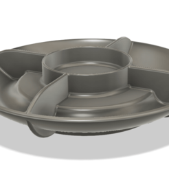 Download free STL files divided magnetic screw bowl, Shaeroden
