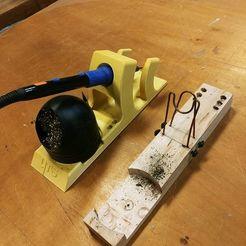 Télécharger fichier STL Etui pour fer à souder pour fer à crayon QUIMAT • Modèle imprimable en 3D, Shaeroden