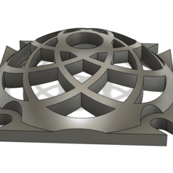 Download free 3D print files 30mm dome fan cover, Shaeroden