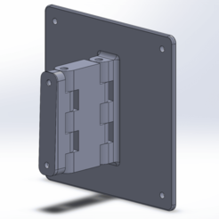 VESA MOUNT.png Download STL file VESA MOUNT 100mm X 100mm • 3D printable design, AndiIsl