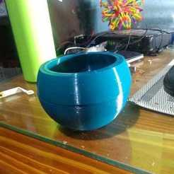 WhatsApp Image 2020-09-15 at 21.55.16.jpeg Download free STL file Spherical self-regulating pot • 3D printer template, MGassa_10