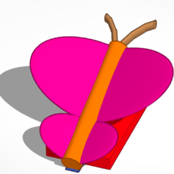 Download free STL Slick butterfly, dweebsters