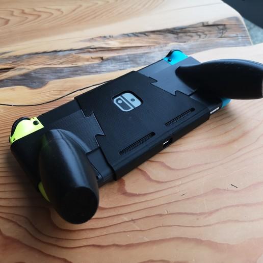 IMG_20200426_085232.jpg Descargar archivo STL Interruptor de Nintendo con empuñadura ergonómica • Plan de la impresora 3D, VectorFinesse