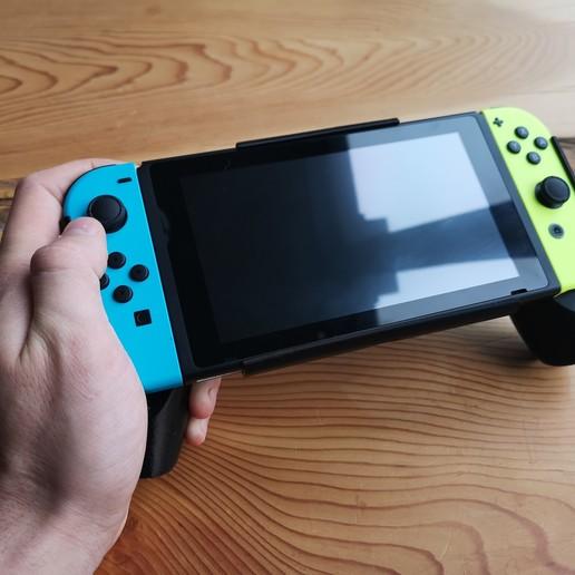 IMG_20200426_085320.jpg Descargar archivo STL Interruptor de Nintendo con empuñadura ergonómica • Plan de la impresora 3D, VectorFinesse