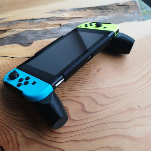 Download 3D printer model Nintendo Switch Ergonomic Grip, VectorFinesse