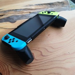 Download 3D printer model Nintendo Switch Ergonomic Grip, VectorFinesse