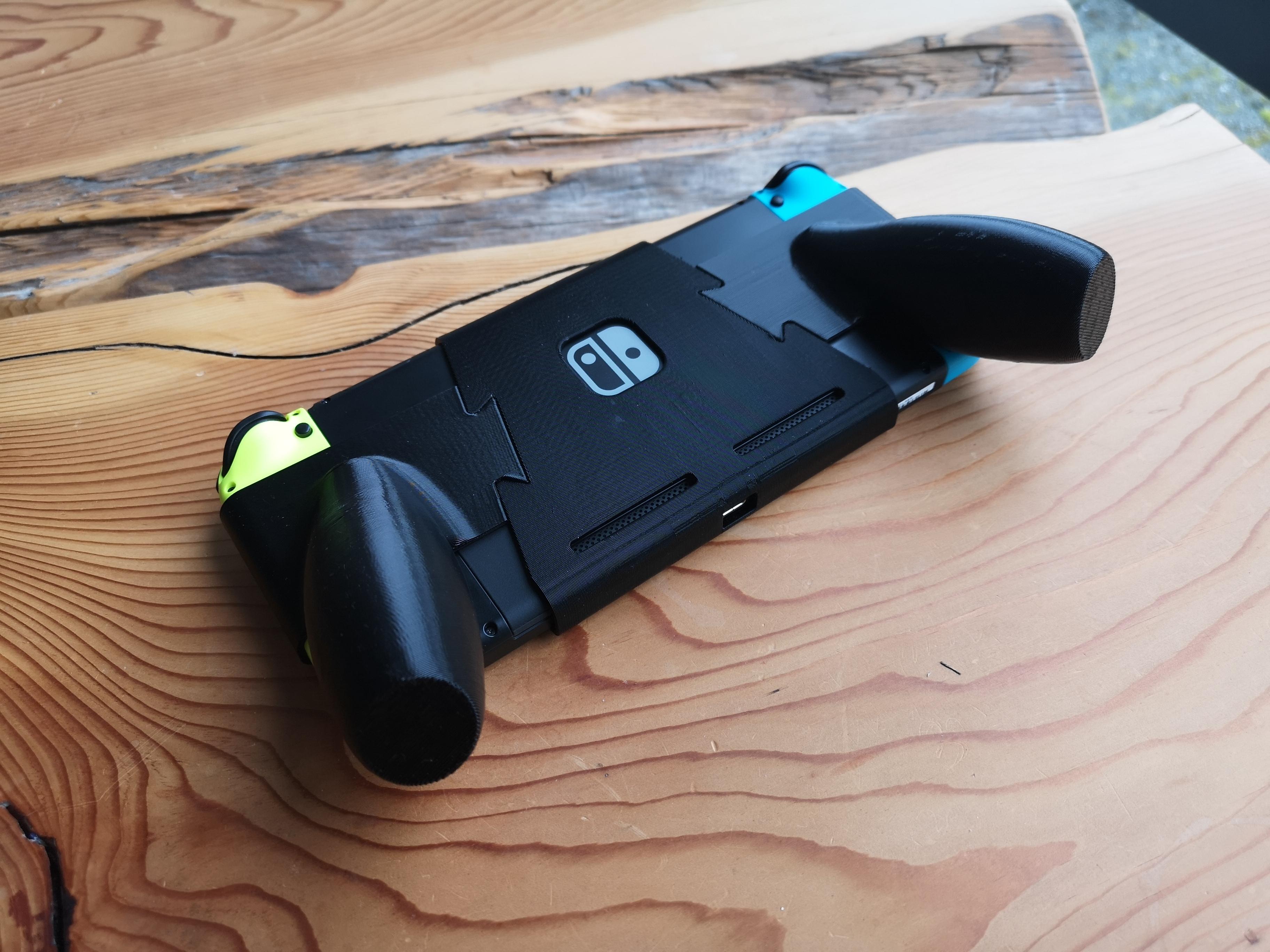 IMG_20200426_085234.jpg Descargar archivo STL Interruptor de Nintendo con empuñadura ergonómica • Plan de la impresora 3D, VectorFinesse