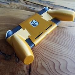 IMG_20200418_123353.jpg Télécharger fichier STL Nintendo Switch Lite : une prise en main ergonomique et confortable • Objet à imprimer en 3D, VectorFinesse