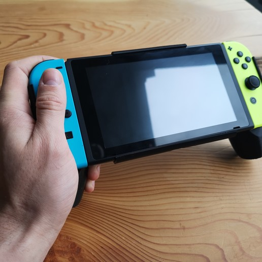 IMG_20200426_085313.jpg Descargar archivo STL Interruptor de Nintendo con empuñadura ergonómica • Plan de la impresora 3D, VectorFinesse