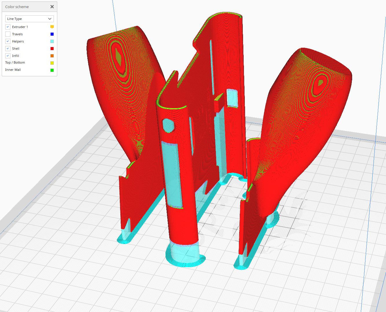 Switch Grip Print Orientation.png Descargar archivo STL Interruptor de Nintendo con empuñadura ergonómica • Plan de la impresora 3D, VectorFinesse
