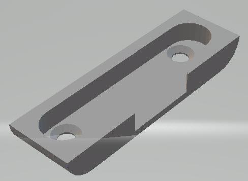 Monant gâche 3D.jpg Download free STL file AMOUNT OF WINDOW WASTE SILVER WINDOW 010 • 3D print object, laluyauxeric