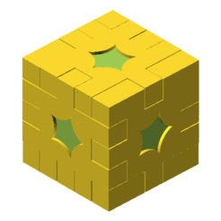 Download STL file Cube Puzzle • 3D print design, meteoGRID