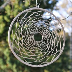 Fibo_r8_l13_web.JPG Download STL file Fibonacci Window Decoration • 3D printing model, meteoGRID
