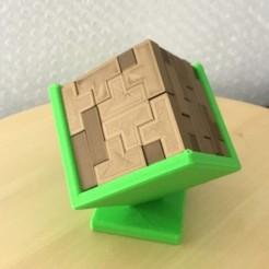 Download 3D printer model 3D Tetris, meteoGRID