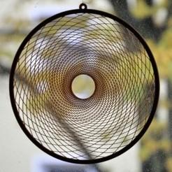 Fibonacci_Win_01.jpg Download STL file Fibonacci Window Decoration • 3D printing model, meteoGRID
